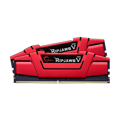 Image de G.Skill RipJaws 5 Series Rouge 8 Go (2x 4 Go) DDR4 2400 MHz CL15