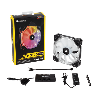 Image de Corsair HD120 RGB LED High Performance with controller