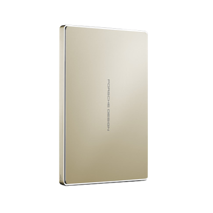 Image de LaCie Porsche Design Mobile Drive 2 To - Or (USB-C)