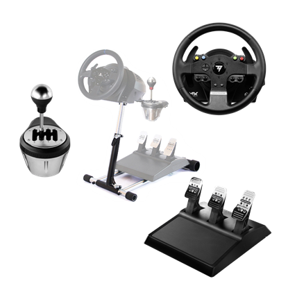 Image de Thrustmaster TMX Pro + TH8 Add-On Shifter + Wheel Stand Pro v2