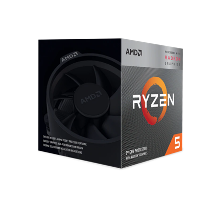 Image de AMD Ryzen 5 3400G (4M Cache, up To 4.2 GHz)