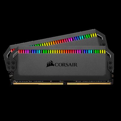 Image de Corsair Dominator Platinum RGB 32 Go (2 x 16 Go) DDR4 3200 MHz CL16