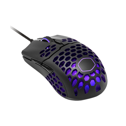 Image de Cooler Master MasterMouse MM711 RGB Gaming Black Mate, USB