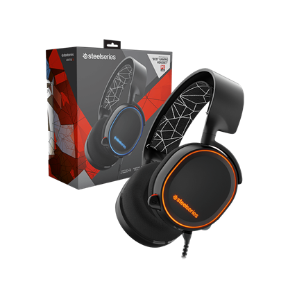 Image de SteelSeries Arctis 5 (Black - Noir)