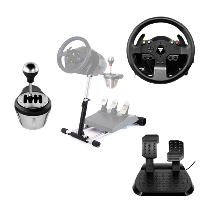 Image de Thrustmaster TMX Force Feedback + TH8 Add-On Shifter + Wheel Stand Pro v2