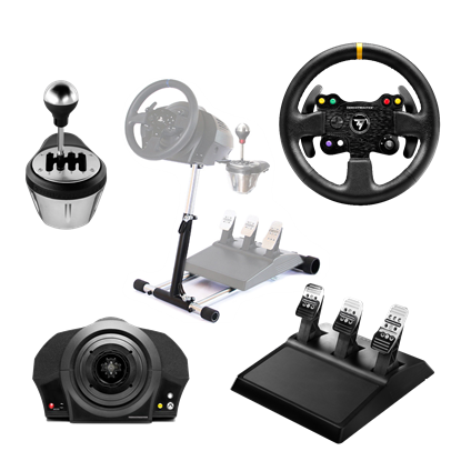 Image de Thrustmaster TX Racing Wheel Leather Edition + TH8 Add-On Shifter + Wheel Stand Pro v2