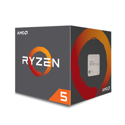 Image de AMD Ryzen 5 1600 12nm Zen+ (16M Cache, Up To 3.6 GHz)