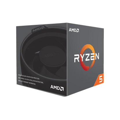 Image de AMD Ryzen 5 2600 (16M Cache, up To 3.9 GHz)
