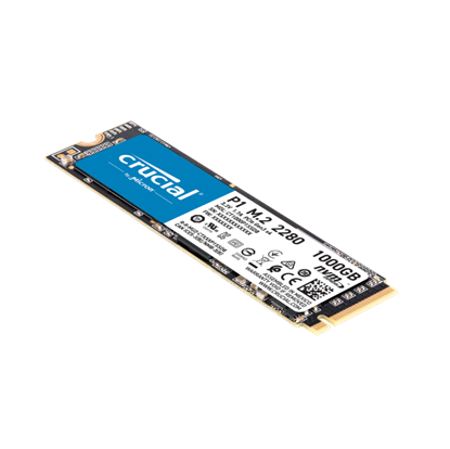 Image de Crucial P1 PCIe NVMe 1To, M.2