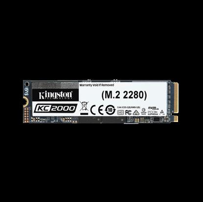 Image de Kingston KC2000 NVMe PCIe SSD 250Go, M.2