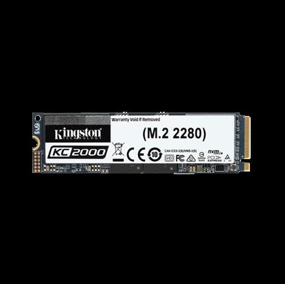 Image de Kingston KC2000 NVMe PCIe SSD 500Go, M.2