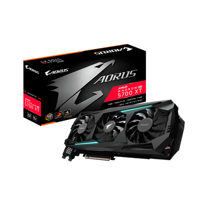 Image de Gigabyte Aorus Radeon RX 5700 XT 8G