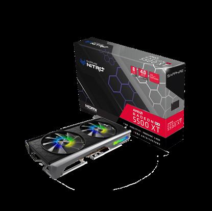 Image de Sapphire Nitro+ Radeon RX 5500 XT 8G SE