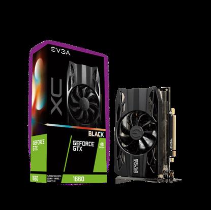 Image de EVGA GeForce GTX 1660 XC Black Gaming