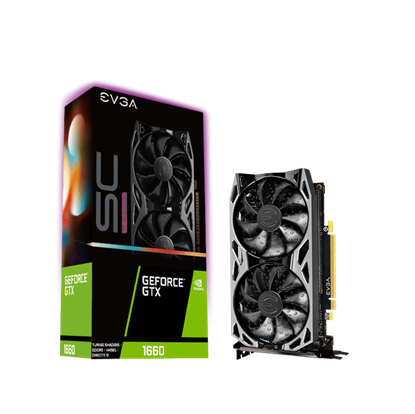 Image de EVGA GeForce GTX 1660 SC Ultra Gaming