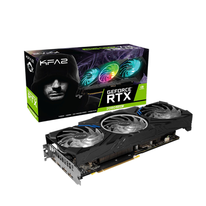 Image de KFA2 GeForce RTX 2080 SUPER Work The Frames Edition